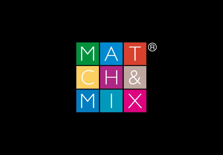 logo match and mix